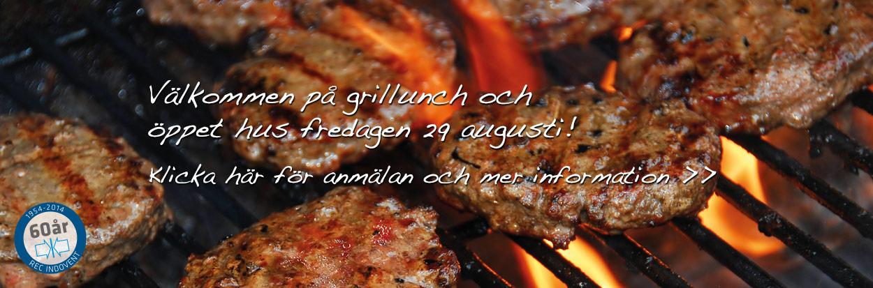 Anmälan till Grillunch den 29 augusti